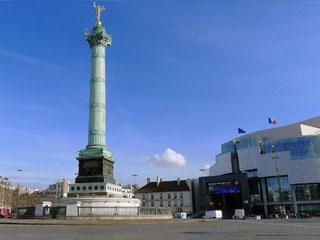 visite guidate monumenti parigi: bastiglia